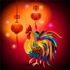 灯笼大公鸡图片