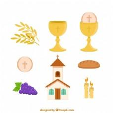 教堂和第一次圣餐的对象