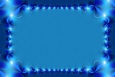 蓝色神秘背景