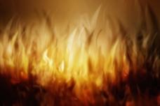 模糊火焰背景图片