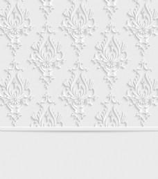 时尚现代花纹3d背景素材