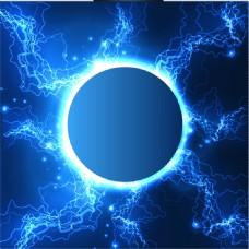 炫光电光背景图片