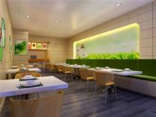 餐厅室内装饰效果图设计