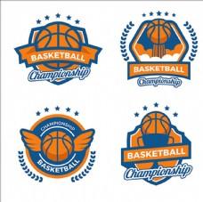 篮球比赛俱乐部培训LOGO标志