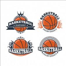 篮球俱乐部比赛培训LOGO标志