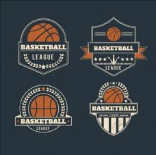 篮球比赛培训运动标志LOGO