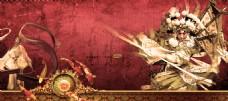 古典中国风人物海报