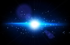 粒子立体光效背景
