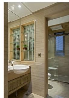 家装浴室效果