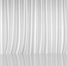 白色幕布背景