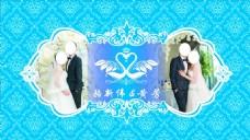 结婚婚礼背景板设计图