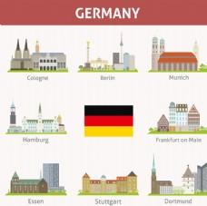 德国地标建筑 素材