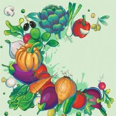 多种有机蔬菜组合插图