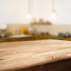 木头桌子背景
