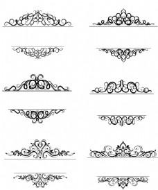 歐式花紋邊框