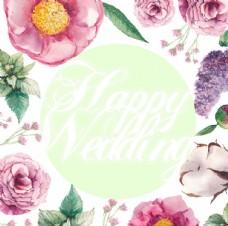 结婚花朵素材