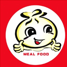 包子logo