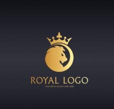 金色logo设计