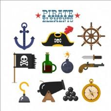 神奇的海盗元素