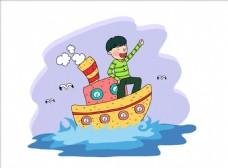 卡通儿童插画