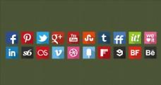 社交媒体标志