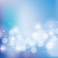 蓝色渐变光斑光效背景矢量素材