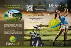 高尔夫宣传单