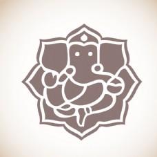印度象头神插图