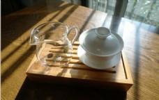 盖碗茶具茶席