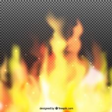 火的现实背景