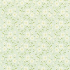 素色花纹布艺壁纸