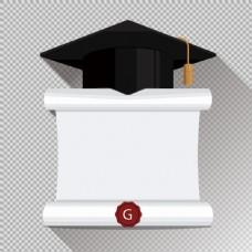 毕业主题背景免抠png透明图层素材