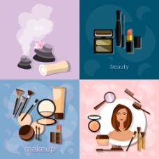 创意时尚化妆插画