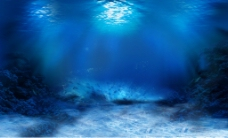 海底水底图片素材