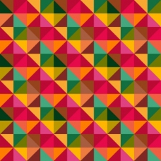 重叠形状的几何背景