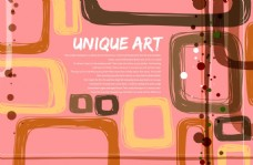 粉红装饰抽象图案