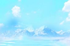雪山高清背景
