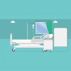 医院房间背景设计