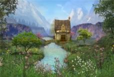 山河城堡H5背景图