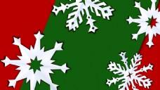 雪花圣诞视频