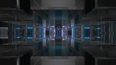 立方块视频背景素材