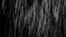 大雨雨滴视频背景