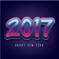 新年的深蓝色背景