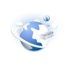 手绘世界地球元素