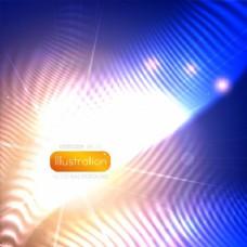 能量波七彩光芒背景