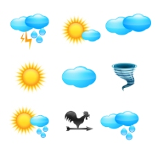 天气图标ICON素材