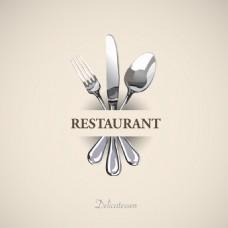 复古餐厅菜单Logo设计
