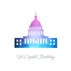 美国国会大厦,多边形