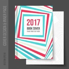 几何书籍封面设计