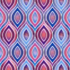 几何水彩画图案